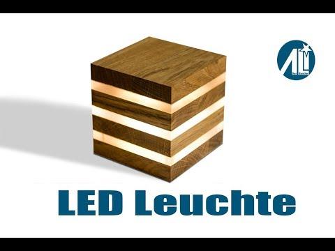 Led Leuchte Selber Bauen Kompakt Und Mobil Youtube