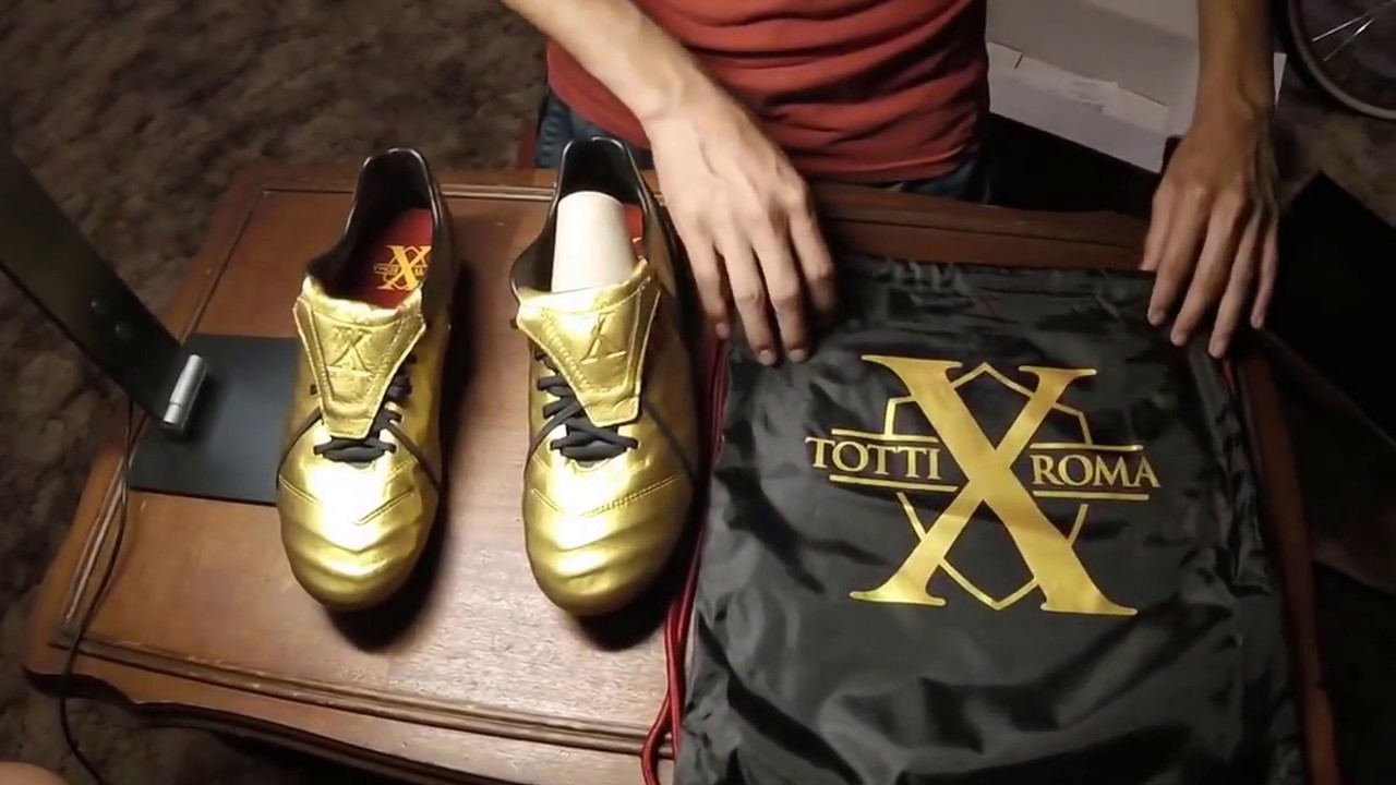 info for 4aaf3 2f3dc Unboxing Limited Edition 2017 Nike Totti X Roma Tiempo Legend
