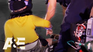 Woman Thrown From Car Suffers Horrific Leg Injury | Nightwatch (S5) | A&E