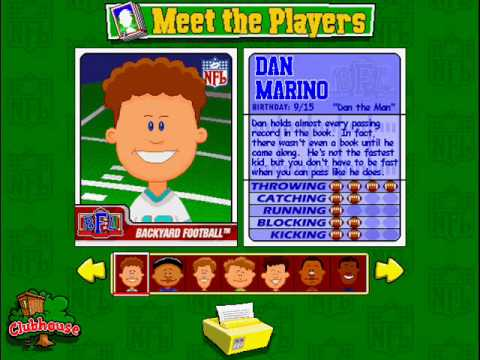 backyard football pro theme youtube