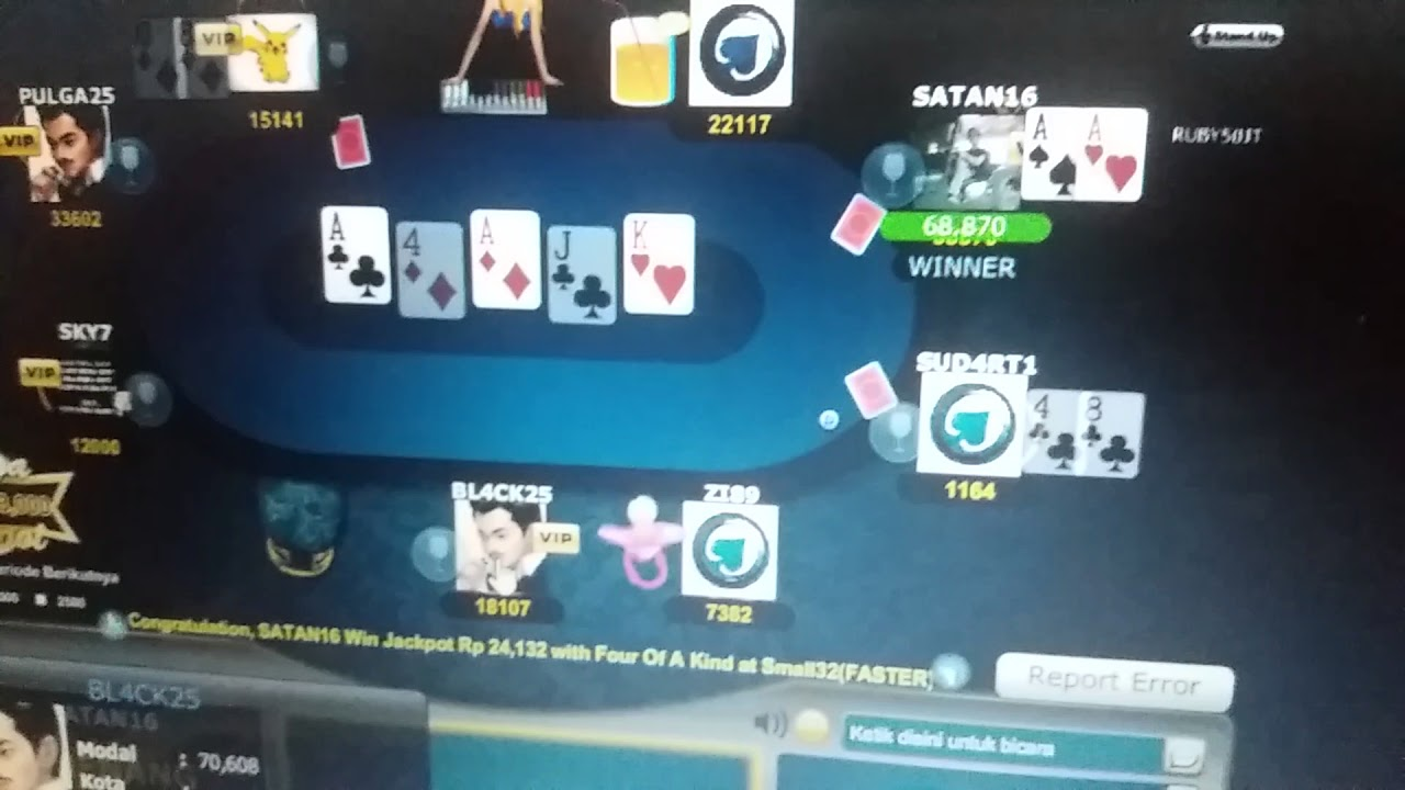Cara Paling Mudah Menang Di Poker Cc Youtube