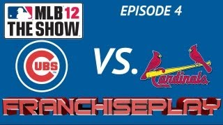 MLB 12 The Show - Fantasy Season EP 4 - 3 Game Series - Chicago Cubs vs. St. Louis Cardinals