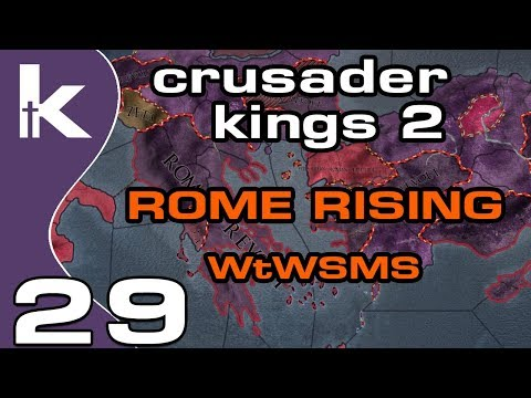 Crusader Kings 2 Rome Rising - Episode 29   Conquering on the Side   Ck2 Modded Gameplay