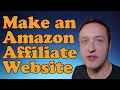 How to make an AMAZON AFFILIATE WEBSITE 2017 - With WordPress, Woocommerce and Woozone.