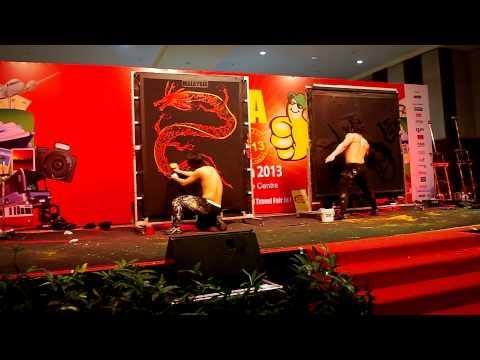 """Heroes""  Korean Performers from Seoul at MATTA Fair 2013 Kuala Lumpur"
