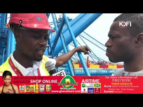 GHANA GETS BIGGEST SEA PORT IN WEST AFRICA #KOFITV #KOFIRadio