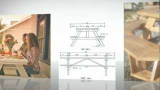 Picnic Table Plans - Designs For Picnic Tables