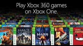 Xbox One : l'achat de jeux rétrocompatibles Xbox 360 enfin disponible !