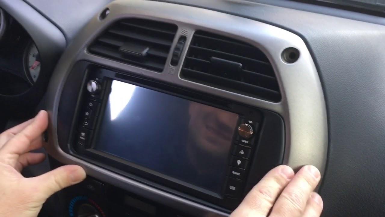 Removal Radio Toyota Rav 4 Old Model