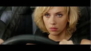 Первый Раз За Рулём ... отрывок из фильма (Люси/Lucy)2014