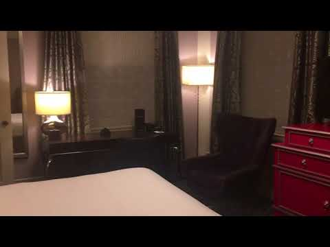 Sir Francis Drake Hotel Room Walk Through