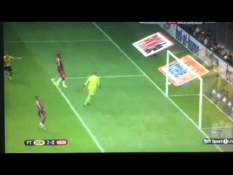 Henrikh Mkhitaryan Goal DFB Supercup Borussia Dortmund vs Bayern Munchen 1-0