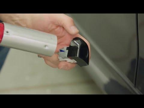 Comment installer un placage sur une poignee de portiere - Pellicule de placage de Serie 2080 3M