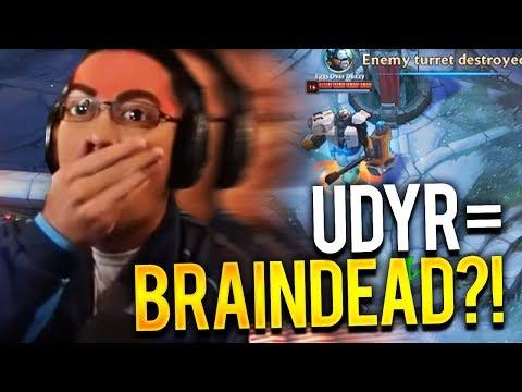 CONQ DYR TOP VS SION | HE CALLED UDYR BRAIN DEAD?!?!?! - Trick2G