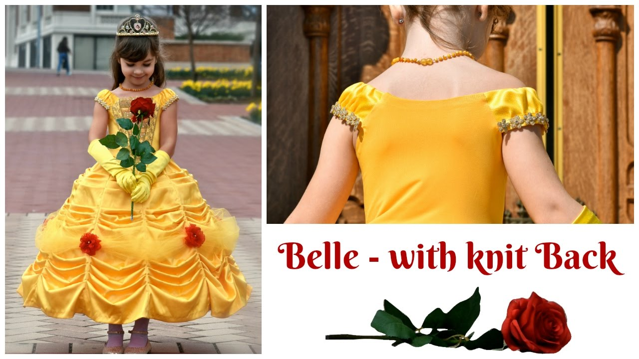 Belle Dress Pattern Interesting Decoration