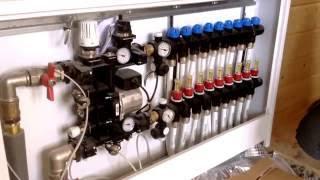 Отопление в деревянном доме(Реализованный проект отопления деревянного дома. Что такое коллекторный шкаф и что скрывается в нем?))..., 2015-10-19T12:33:07.000Z)