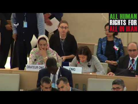 ID with IE rights of older persons and SR on water and sanitation, 36th HRC, Pegah Fatemi, Farsi