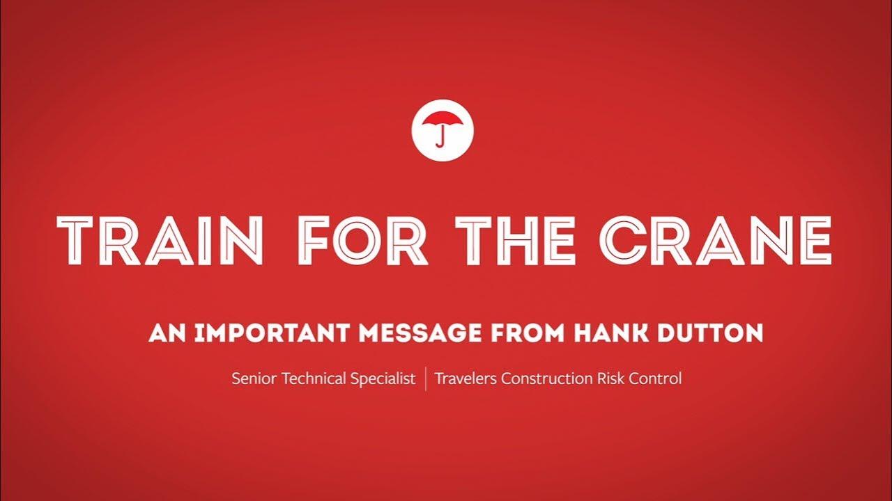 Crane Training |Travelers Insurance