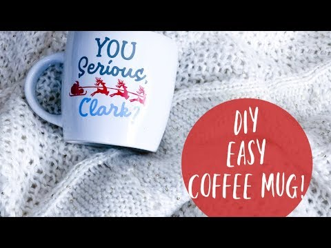 DIY DOLLAR TREE COFFEE MUG