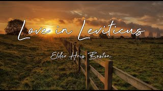 Love in Leviticus by Chris Boston