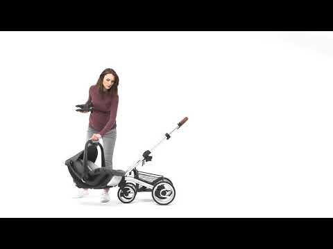 Mutsy Промо пакет Шаси Mutsy Nio Dark Grey+ Кош за новородено и Седалка и сенник Mutsy Nio Inspire Light Shade #1Ww_cY0ii-A