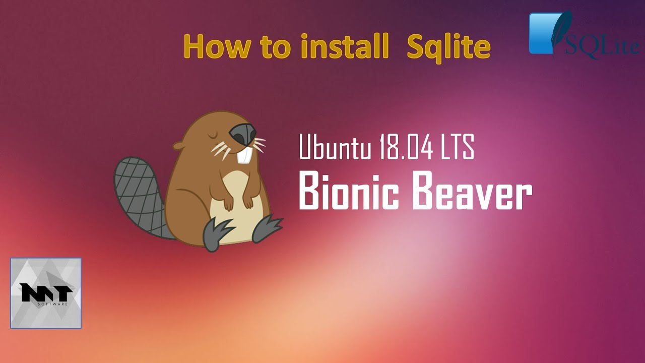 How to install SQlite and SQlitebrowser on Ubuntu 18 04