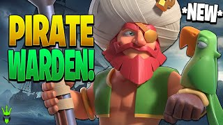 YO HO HO! IT'S THE PIRATE WARDEN! - Clash of Clans