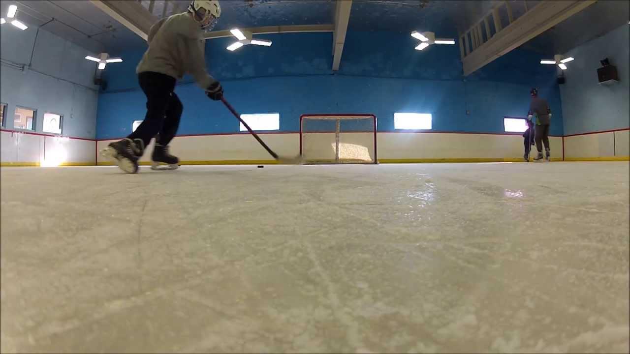 Hockey Shots On Ice