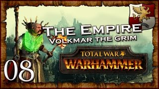 [8] I'M PUSHED BACK - Total War: Warhammer (The Grim and the Grave) Empire Campaign Walkthrough
