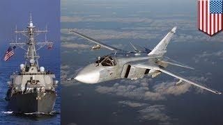 Ukraine Crisis: Russian Su-24 buzzes US Destroyer USS Donald Cook