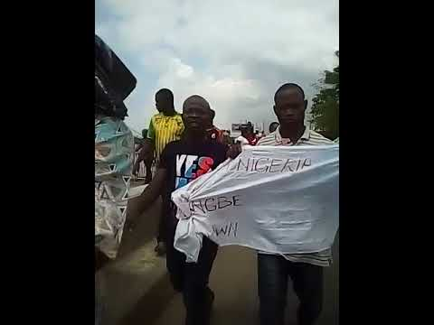 Togolese Protest at ECOWAS, Togo Embassy in Lagos  10