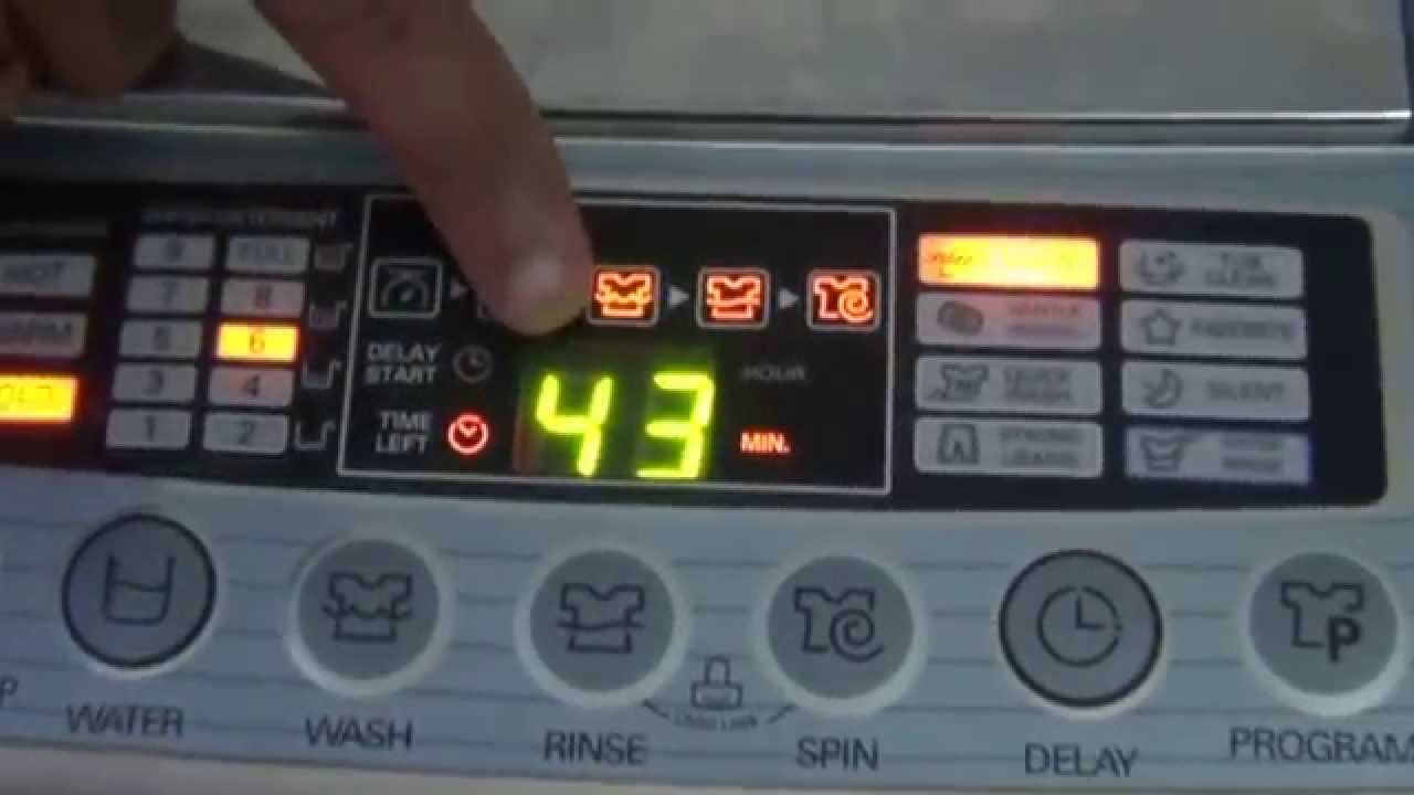Guidance For Lg Automatic Washing Machine  Hindi   1080p Hd