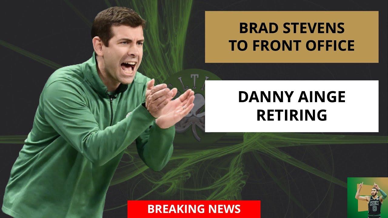 Danny Ainge resigns as Celtics president of basketball operations ...