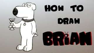 Ep. 131 How to draw Brian Griffin
