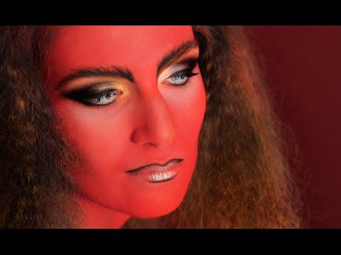 devil halloween makeup tutorial tutorial de maquillaje de demonio