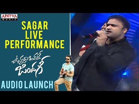 Sagar Live Performance    Vunnadhi Okate...