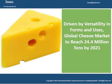 Global Cheese Market Expected to Grow at a CAGR of 5% During the Next Five Years