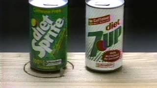 Diet Sprite Vs Diet 7up 1986