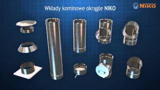 Kominy NIKO - film reklamowy | Kominy ceramiczne Kominy stalowe kominki