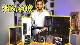 ركبت أقوى تجميعة ألعاب بنفسي (16408ريال) ! AMD Ryzen 3950x Build