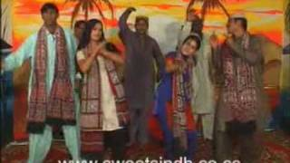 "Sindhi Dance on Jeay sindh jeay  ""Ahmed Mughal"""