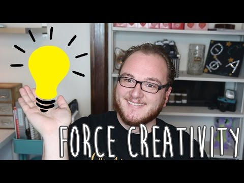 How to Force Creativity & Other Inspiration Tips