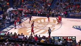 3rd Quarter, One Box Video: New Orleans Pelicans vs. Oklahoma City Thunder