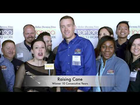 Dallas Morning News Top 100 Places to Work