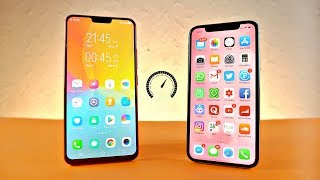 Vivo X21 UD vs iPhone X - Speed Test!