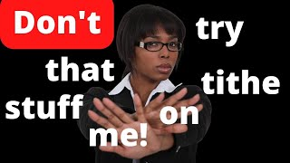 No Such Thing As A Biblical Money Tithe
