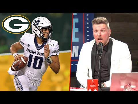 Pat McAfee Reacts To Jordan Love Being Drafted To The Packers