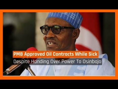 Nigeria News Today: Buhari Approved Oil Contracts From Sick Bed in London - Baru (11/10/2017)