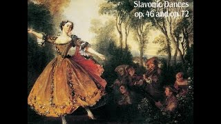 (Full album) Slovanic Dances, Op. 46 & Op. 72 - Duo Crommelynck, Piano 4 Hands: Antonín Dvořák