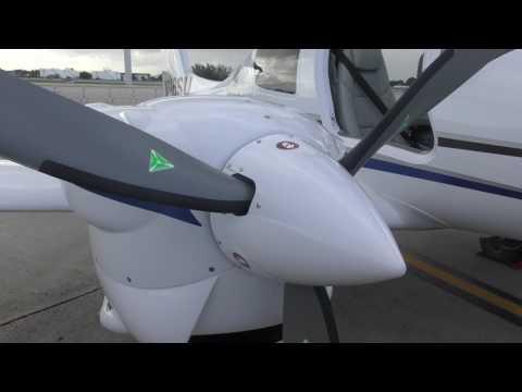 Ibas presentacion de avión Austriaco Diamond DA62. 6pax. Rio de Janeiro.